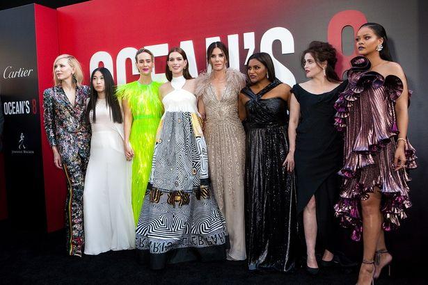 『オーシャンズ8』のワールドプレミアに豪華女性キャストが大集結!