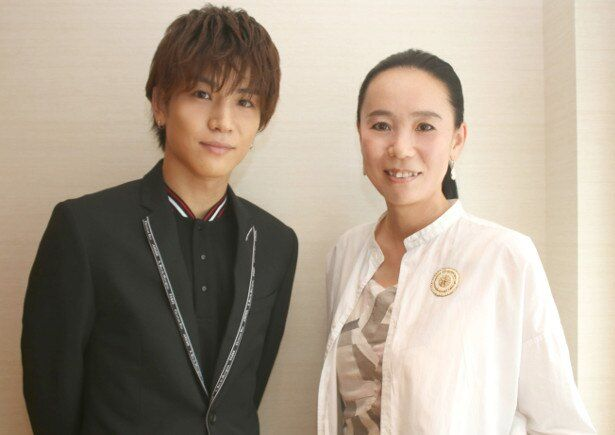 『Vision』で初タッグを組んだ岩田剛典と河瀬直美監