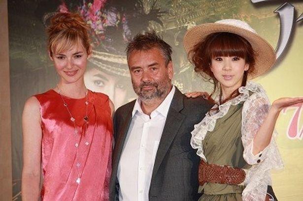 リュック・ベッソンが主演女優ルイーズ・ブルゴワンと来日。ほしのあきも宣伝ミューズとして登壇