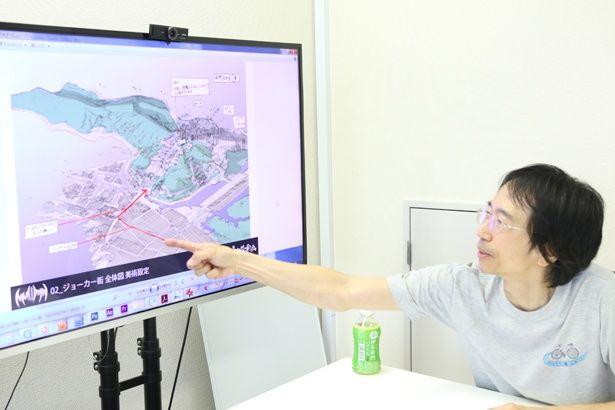 高木パート監督が城下町の設定について解説