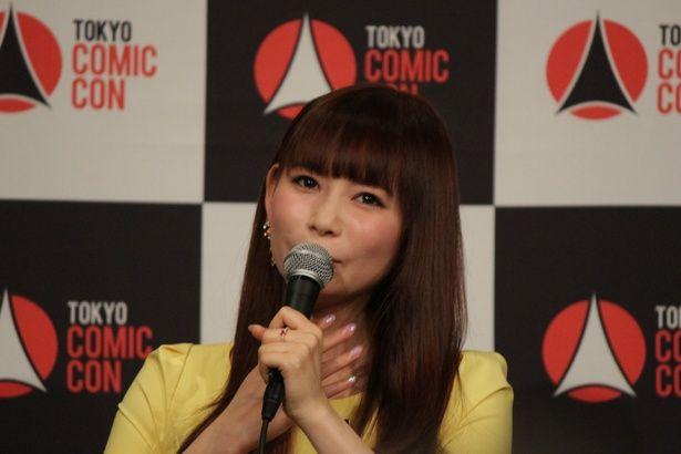 「東京コミコン2018」のアンバサダーに任命された中川翔子