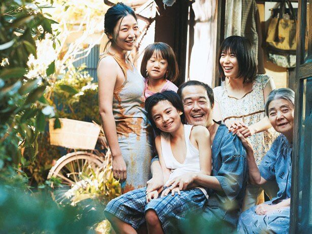 2人の子役の演技に注目が集まる『万引き家族』