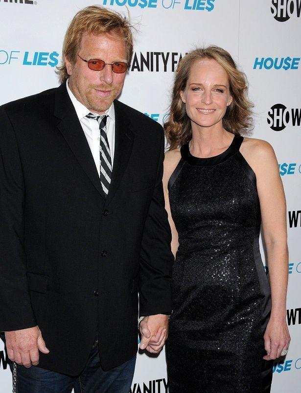 元パートナーのマシューとヘレン・ハント
