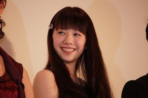 夏帆が笑顔でサムライジャパンにエールを贈った