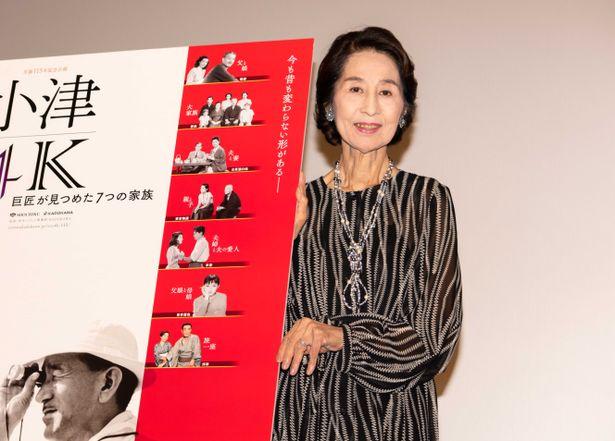 「小津4K」で『東京物語』が上映!香川京子がトークショーに登場
