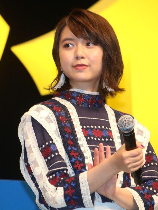 『未来のミライ』で主人公くんちゃん役の声優を務めた上白石萌歌