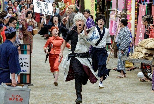 『銀魂2 掟は破るためにこそある』は8月17日(金)に公開!