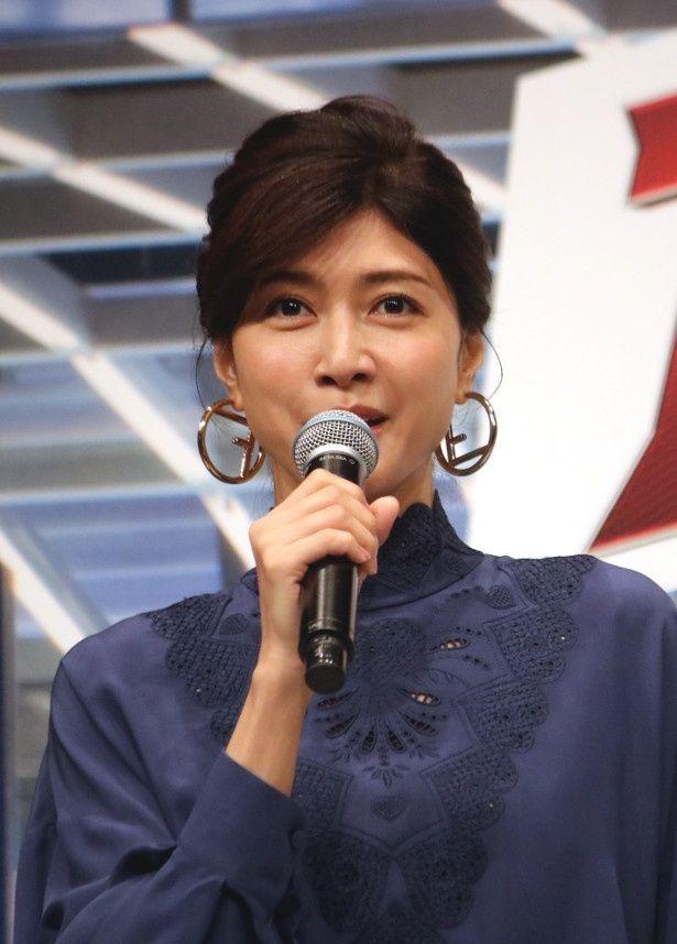 『アントマン&ワスプ』で女性ヒーロー、ワスプ役の声優を務めた内田有紀