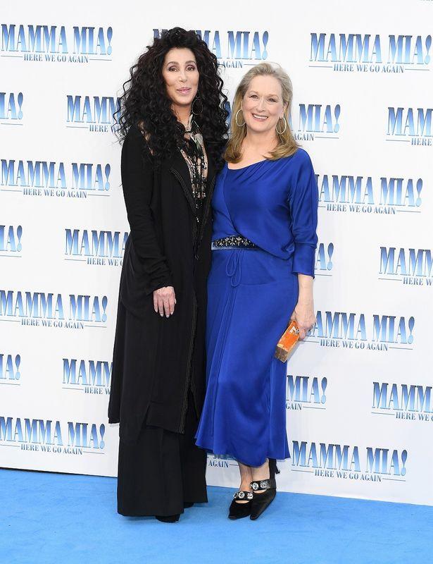 メリルとシェール、2大オスカー女優が共演!