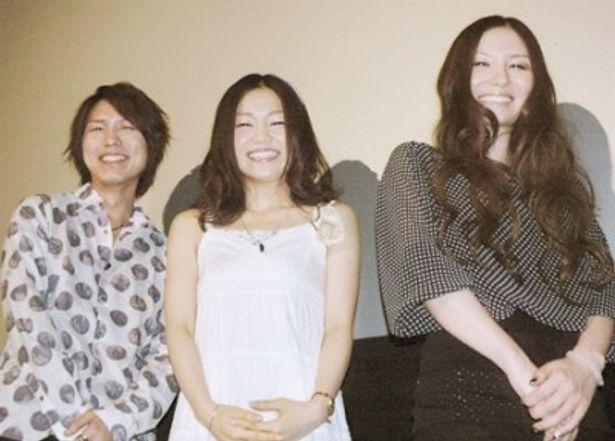 「劇場版 ブレイクブレイド 第二章 訣別ノ路」初日舞台あいさつに登場したメーンキャストたち
