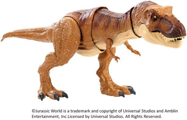 映画から飛びだしてきたかのような大迫力の恐竜フィギュア!