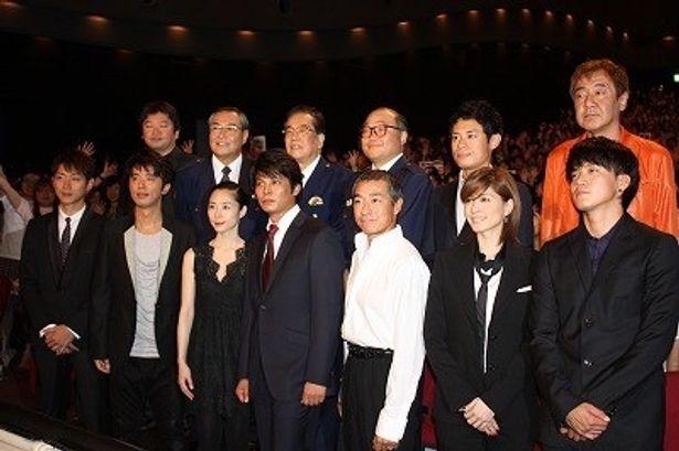 『踊る大捜査線 THE MOVIE 3』の初日舞台挨拶が大盛況!