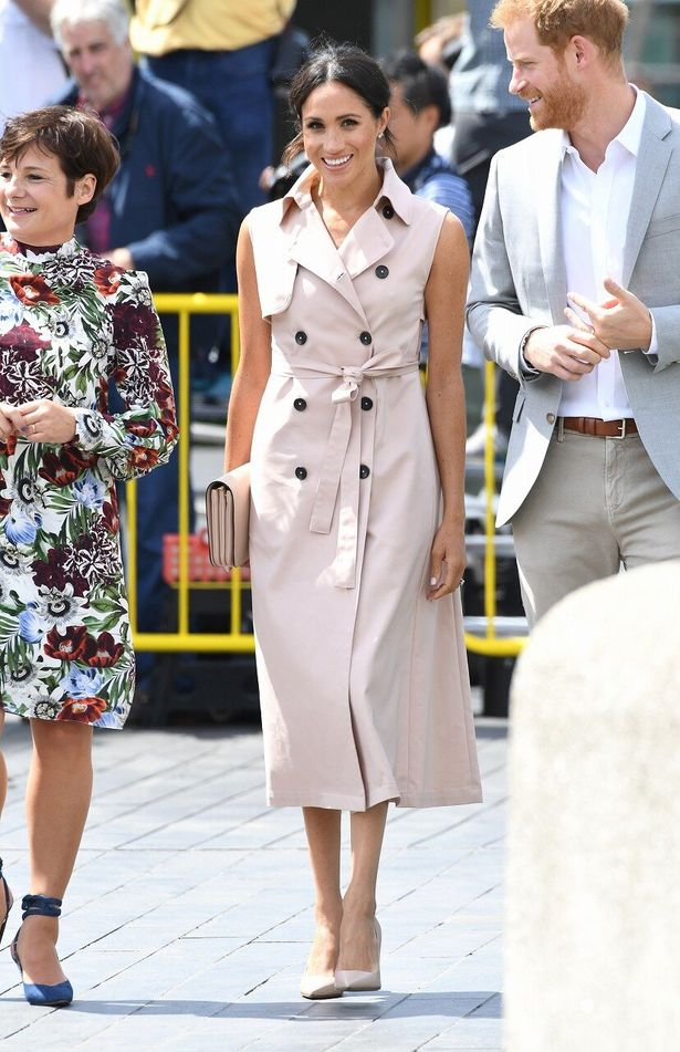 【写真を見る】外遊衣装代が400万超え!?いろんな意味でファッションが注目を集めているメーガン妃