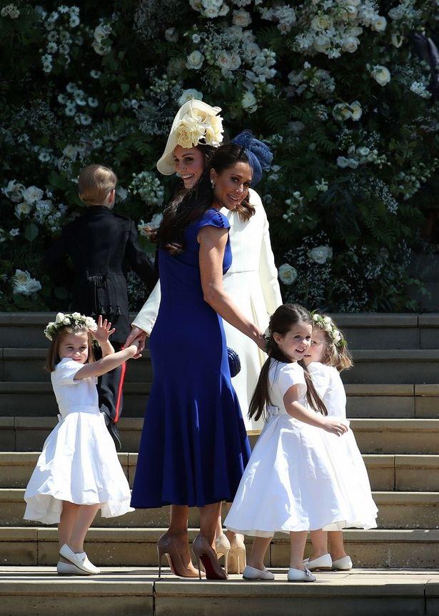ジェシカはメーガン妃の挙式にも出席