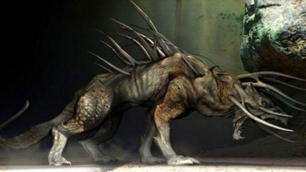 プレデター猟犬のコンセプトアート。劇中での暴れっぷりを早く見たい