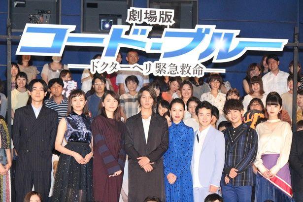 テレビドラマ放送開始から10年を経て、ついに劇場版初日!