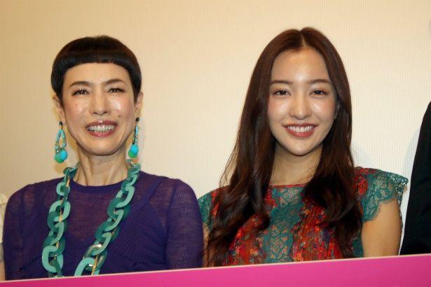 『イマジネーションゲーム』でW主演を務めた久本雅美と板野友美