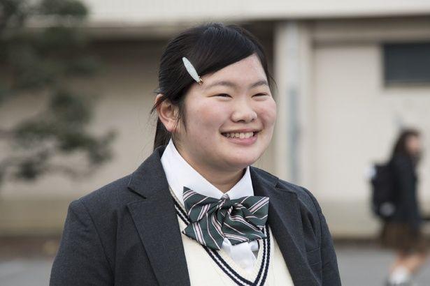 Netflixオリジナルドラマ「宇宙を駆けるよだか」でキーパーソンを演じている富田望生