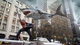 """サメ映画好きをうならせた『シャークネード』完結編がまさかの""""4DX版""""でスクリーンに登場!"""