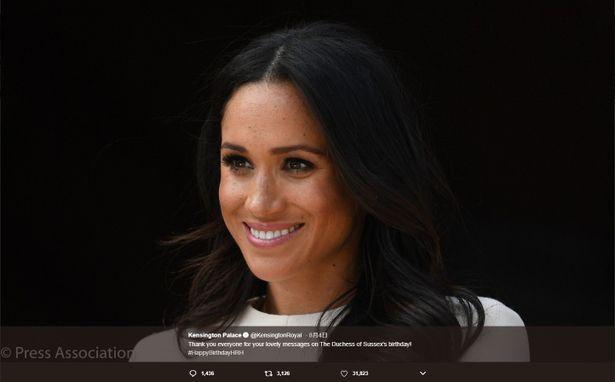 ウィリアム王子夫妻とヘンリー王子夫妻の住むケンジントン宮殿もTwitter、instagramにお祝い投稿