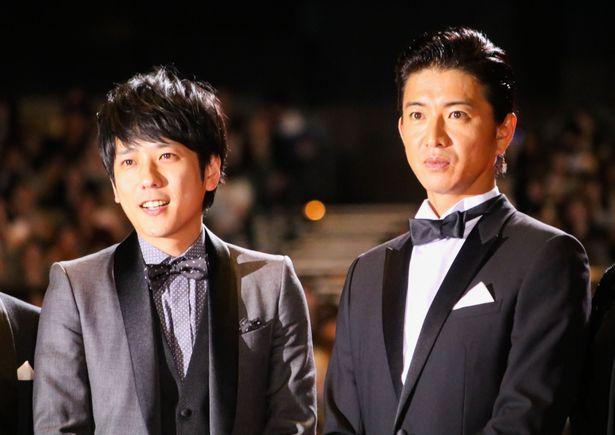 『検察側の罪人』完成披露試写会に木村拓哉&二宮和也が登壇!
