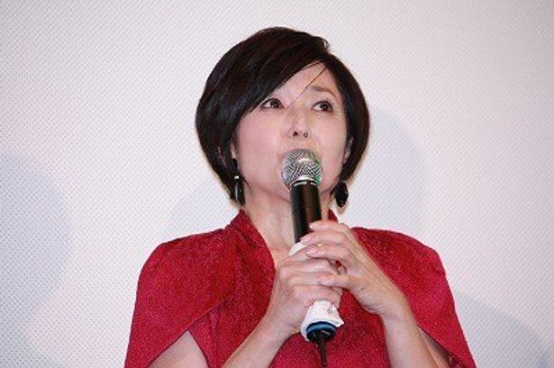 """屋敷の主人・貞子役の竹下景子は、""""貞子ネタ""""で笑いをとった"""