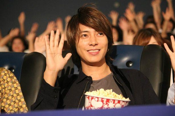 『劇場版 コード・ブルー』のMX4D版上映を楽しんだ山下智久