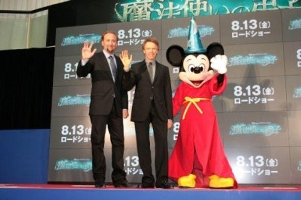ニコラス・ケイジとジェリー・ブラッカイマー、そしてミッキー・マウス