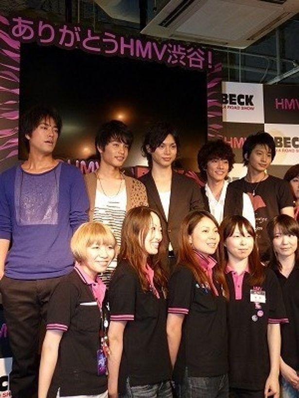 水嶋ヒロら若手俳優共演の『BECK』は9月4日公開