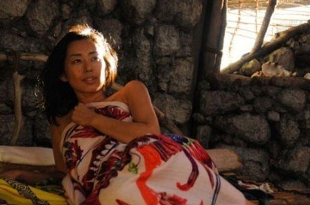 無人島で女1人。演じるのは木村多江