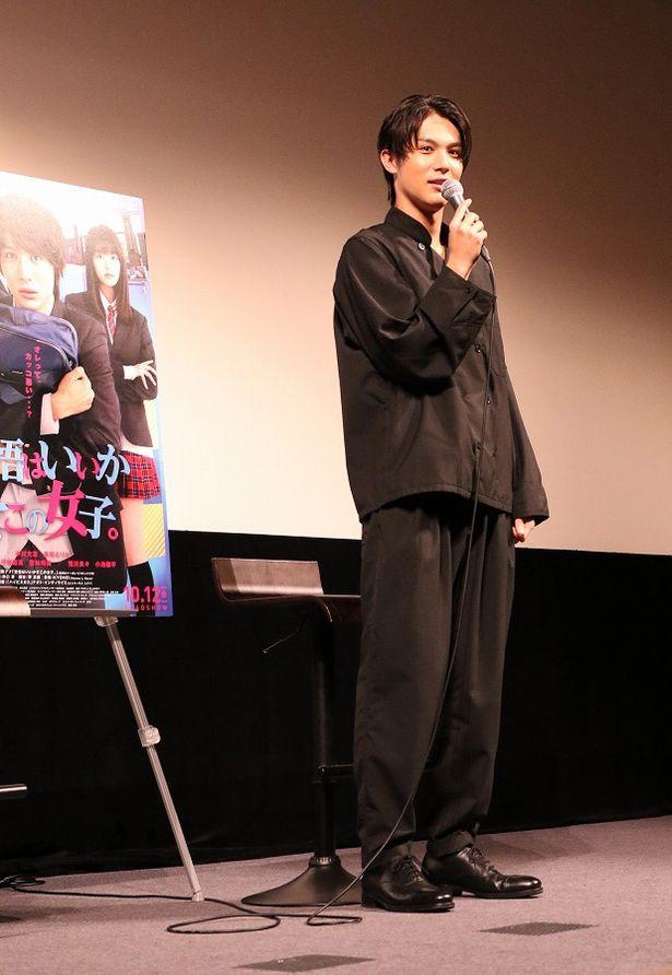 【写真を見る】全身黒のコーディネートでファンを魅了した中川大志