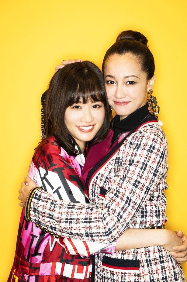 『食べる女』で初共演した沢尻エリカと前田敦子
