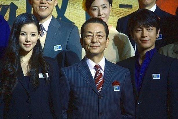 『相棒 劇場版II』製作会見に水谷豊、及川光博、小西真奈美らが登壇