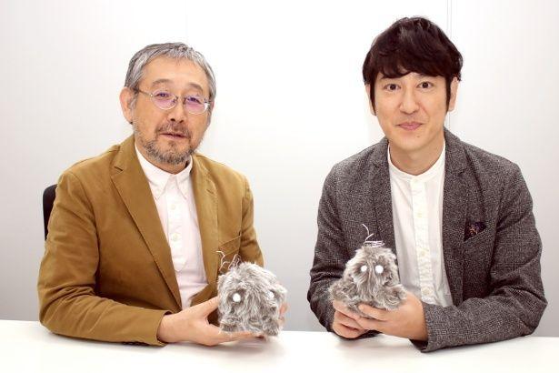 ネットドラマ「うつヌケ」主演の田中直樹と原作者・田中圭一