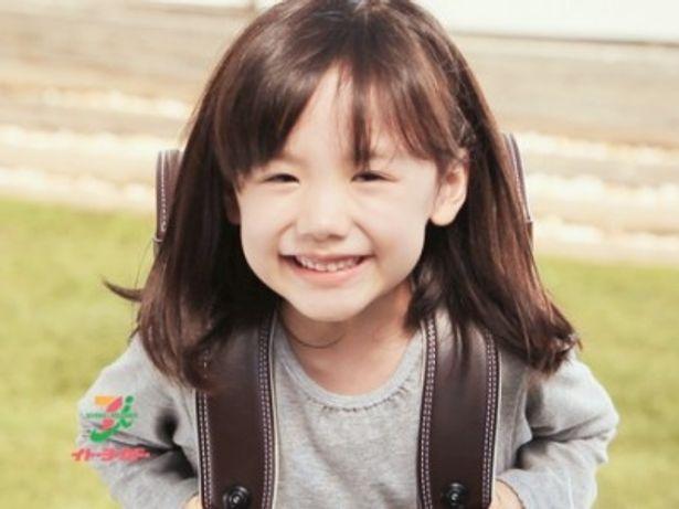 新作ランドセルのCMで笑顔を見せる芦田愛菜
