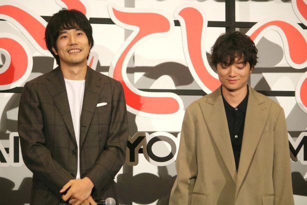 ネット配信ドラマ『聖☆おにいさん』で共演した松山ケンイチと染谷将太