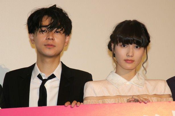 『ここは退屈迎えに来て』で共演した橋本愛と成田凌