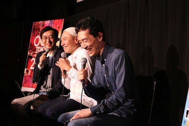 【写真を見る】湯浅正明との京都トークで爆笑する森見登美彦