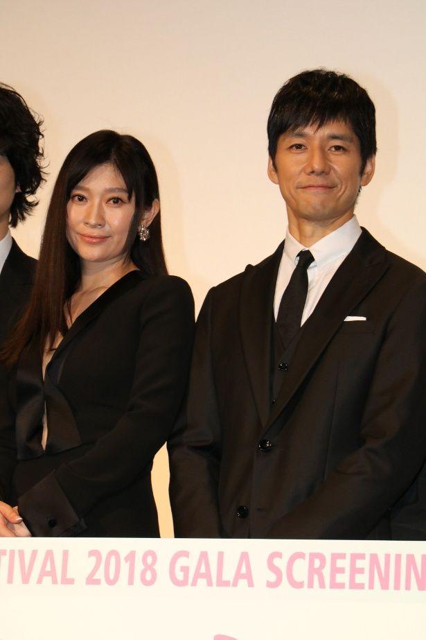 『人魚の眠る家』で共演した篠原涼子と西島秀俊