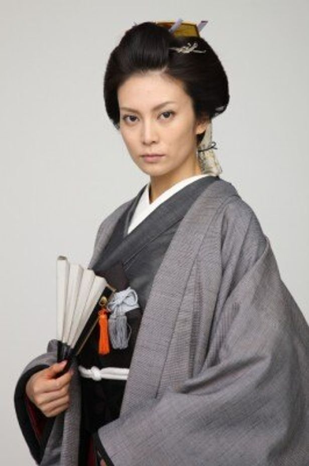 女将軍・徳川吉宗を演じる柴咲コウ