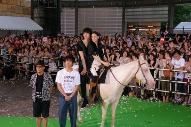 岡田将生と蒼井優と小出恵介、廣木隆一監督がプレミアイベントに登場