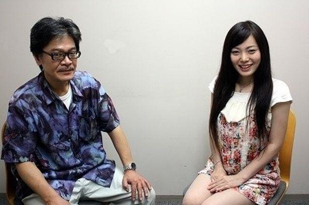 『名前のない女たち』の主演女優に抜擢された新星・安井紀絵と、佐藤寿保監督