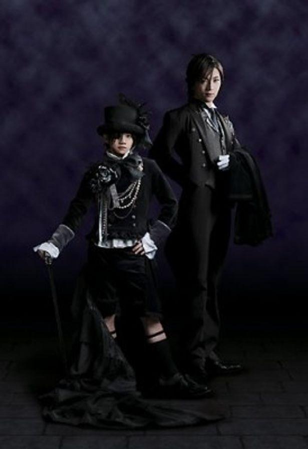 大ヒット・アニメ「黒執事」がミュージカルになって登場