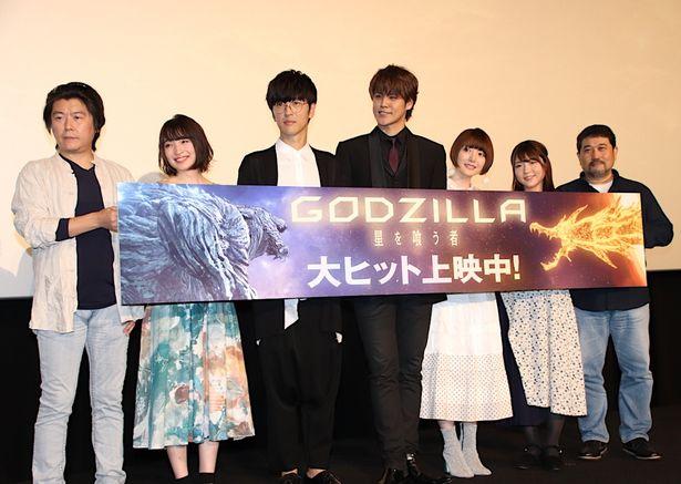 【写真を見る】花澤香菜、上田麗奈、小澤亜李も登壇!豪華声優がズラリと並んだ