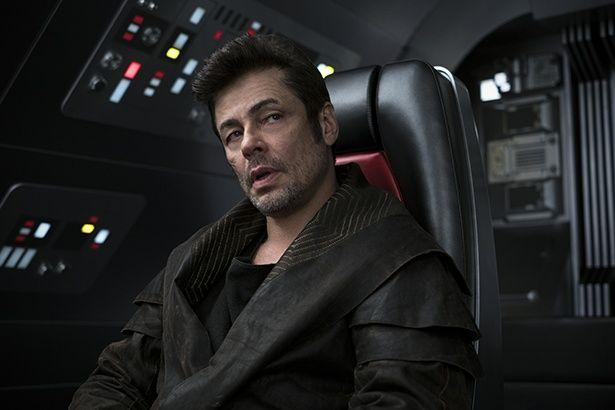 『スター・ウォーズ/最後のジェダイ』では、裏表のあるキャラクターDJを演じたデル・トロ