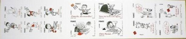 フランスで発売されたプチ・ニコラの記念切手は、子供から大人まで大人気を博した