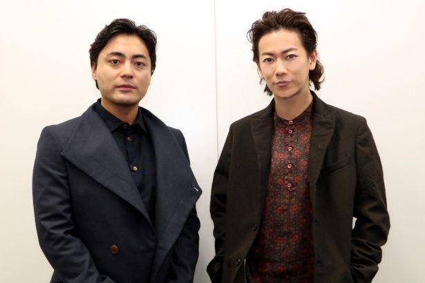 『ハード・コア』で共演した山田孝之と佐藤健