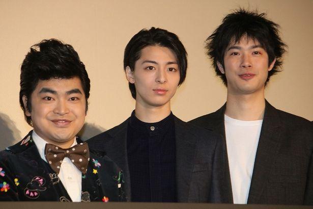 『ギャングース』でトリプル主演を務めた高杉真宙、加藤諒、渡辺大知