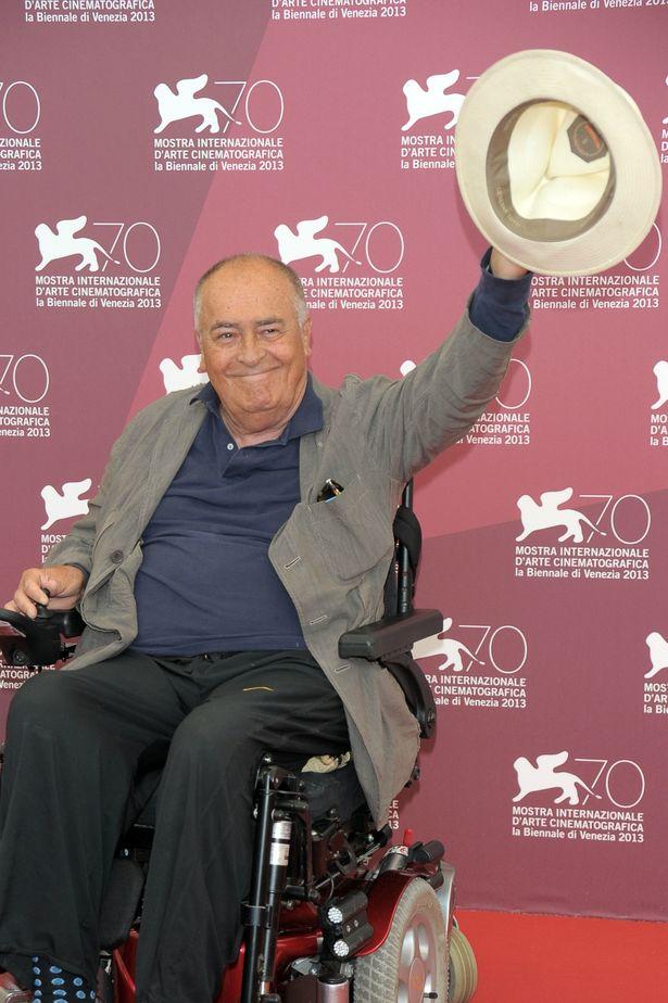 審査員長を務めた第70回ヴェネチア国際映画祭でのベルナルド・ベルトルッチ監督