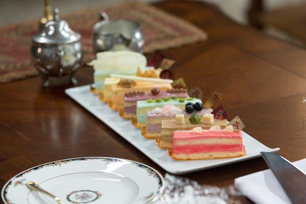 赤目がオーナーを務めるパティスリーのケーキ。永瀬の感想は「美味しかった!」とのこと